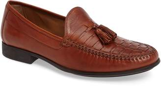Johnston & Murphy Cresswell Woven Tassel Loafer