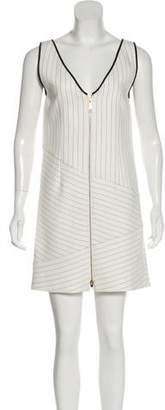 Rachel Zoe Striped Mini Dress