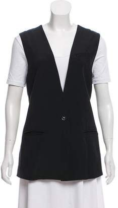 Elizabeth and James Silk Casual Vest w/ Tags