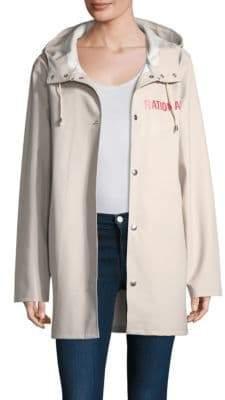 Stutterheim White Raincoat
