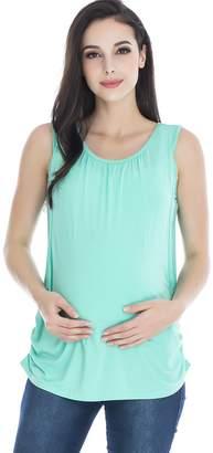 show Women's Nursing Tank Top Breastfeeding T-Shirt