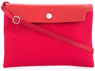 Cabas contrast flap mini bag