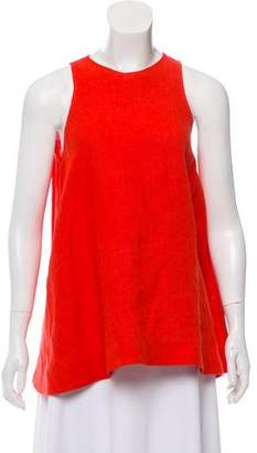 Isa Arfen Linen Sleeveless Top
