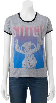 Disney's Lilo & Stitch Ringer Graphic Tee $24 thestylecure.com