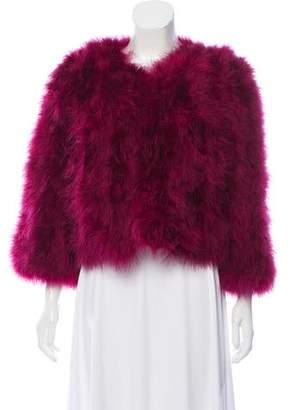 Jocelyn Feather Bolero Jacket w/ Tags