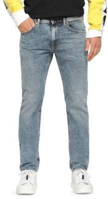 Diesel Thommer Cotton Skinny-Fit Jeans
