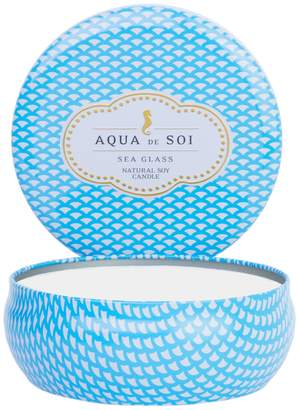 Aqua De SOI Sea Glass Triple Wick Candle