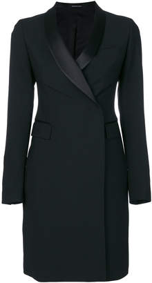Tagliatore long line fitted blazer