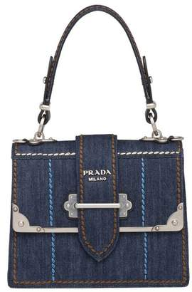 777ef0a69066 Prada Denim Handbag - ShopStyle