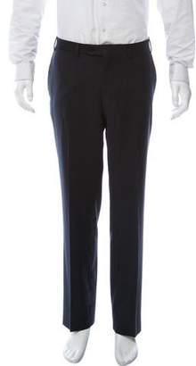 Canali Flat Front Dress Pants