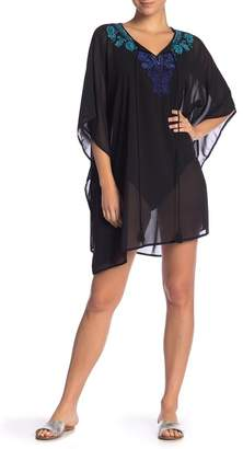 Miraclesuit Mediterra Beaded Cover-Up Caftan