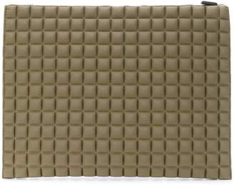 NO KA 'OI No Ka' Oi large textured clutch bag