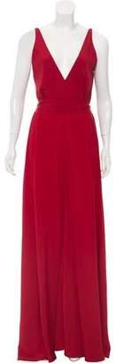 Paule Ka Sleeveless Maxi Dress