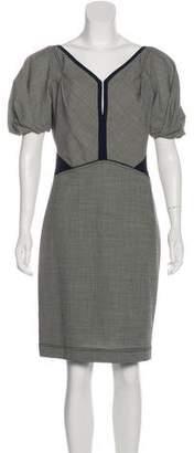 Zac Posen Z Spoke by Short Sleeve Knee-Length Dress