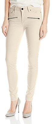 Calvin Klein Jeans Women's Color Driver Moto Legging $50.99 thestylecure.com