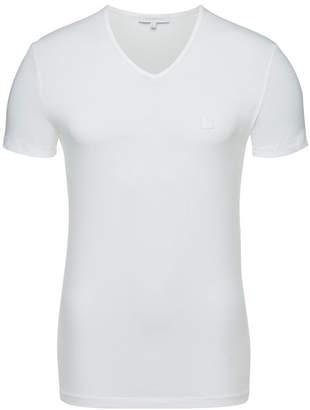 Ermenegildo Zegna Cotton Stretch V-Neck T-Shirt