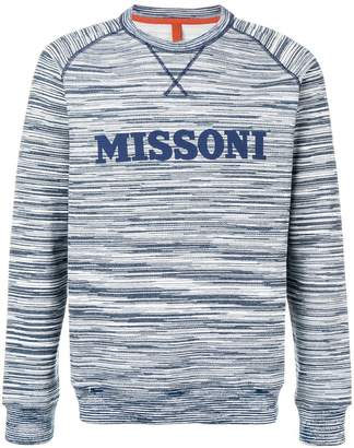 Missoni logo patch sweatshirt