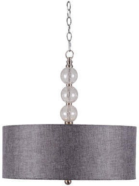 Willa Arlo Interiors Gaetan 3-Light LED Drum Pendant