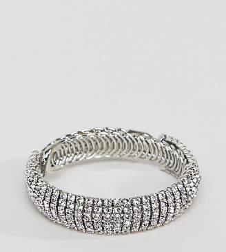 True Decadence True Decandence silver rhinestone bracelet