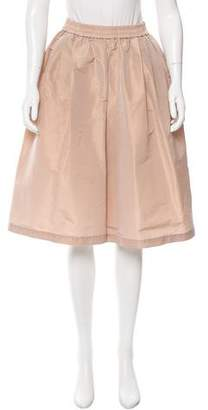 Tome Pleated Wide-Leg Culottes
