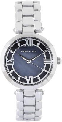 Anne Klein AK 2819 Silver-Tone & Blue Watch