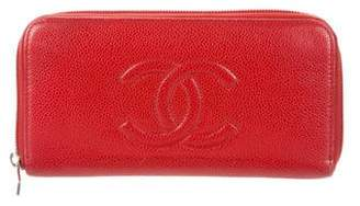Chanel Timeless Caviar Wallet