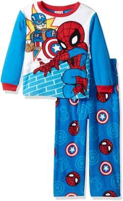 Marvel Toddler Boys' Universe 2-Piece Fleece Pajama Set