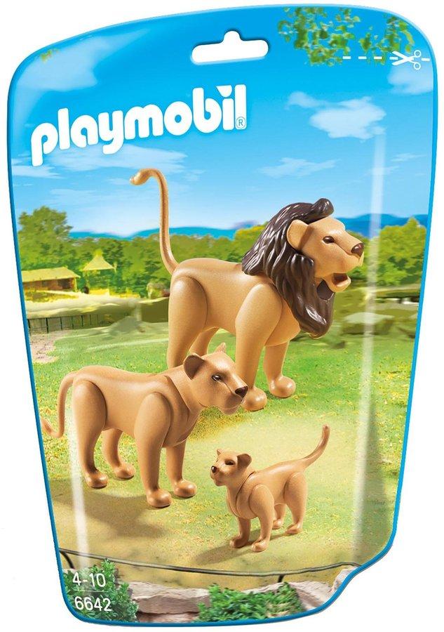 Playmobil Lion Family Building Kit