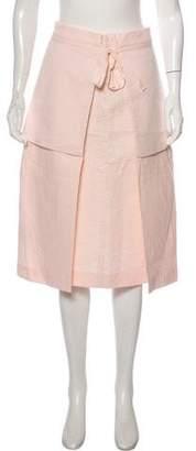 BCBGMAXAZRIA Runway Knee Length Skirt