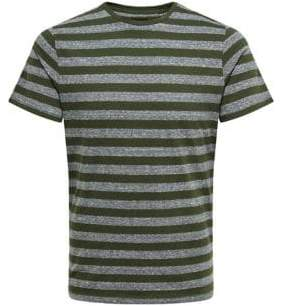 ONLY & SONS Rock Striped Crewneck Tee