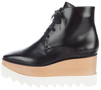 Stella McCartneyStella McCartney Platform Wedge Ankle Boots w/ Tags