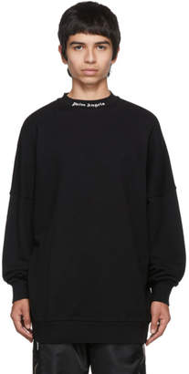 Palm Angels Black Logo Sweatshirt