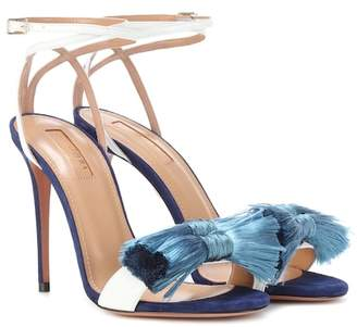 Aquazzura Lotus Blossom 105 sandals