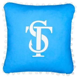 Southern Tide Sailgate Pom Accent Pillow