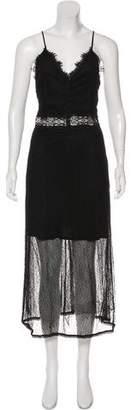 Jonathan Simkhai Sleeveless Lace Maxi Dress