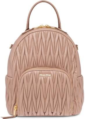 Miu Miu matelassé backpack