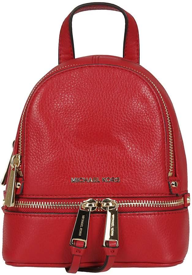 Michael Kors Rhea Backpack - RED - STYLE