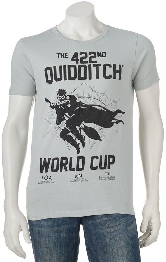 "Men's Harry Potter ""The 422nd Quidditch World Cup"" Tee"