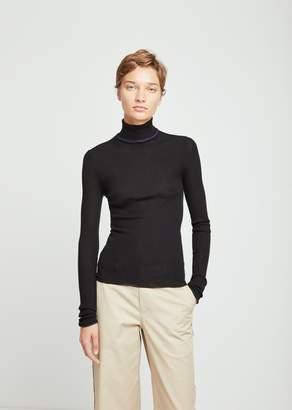 Acne Studios Fitted Turtleneck Trim Sweater