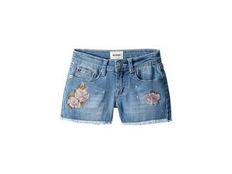 Hudson Raw Hem Shorts in Whatever Wash (Big Kids)