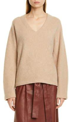 Vince V-Neck Dolman Sleeve Cashmere Sweater
