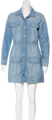 J Brand Denim Mini Dress