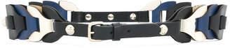 RED Valentino woven belt
