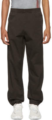 Yeezy Grey Cotton Jogger Lounge Pants