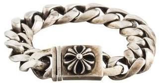 2bdcd62e39f Chrome Hearts Cross ID Chain Bracelet
