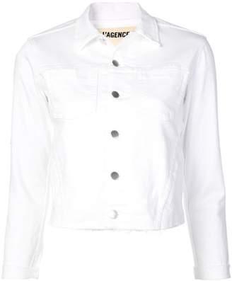 L'Agence classic denim jacket