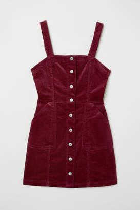 H&M Bib Overall Dress - Red