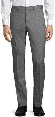 Selected Textured Fitted Pants