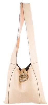 Michael Kors Python XL Jane Hobo Bag