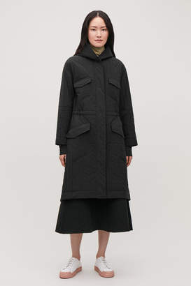 Cos PADDED PARKA WITH DRAWSTRING